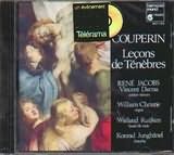 CD image COUPERIN / LECONS DE TENEBRES / JACOBS