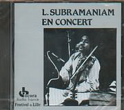 CD image INDIE / L.SUBRAMANIAM EN CONCERT