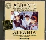 CD image ALBANIA / POLYPHONIES VOCALES ET INSTRUMENTALS