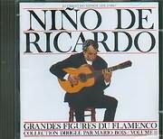 CD image NINO DE RICARDO / GRANDES FIGURES DU FLAMENCO