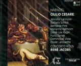 CD image HANDEL / GIULIO CESARE / JACOBS (3CD)