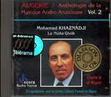 CD image ALGERIA / MOHAMED KHAZNADJI / LA NUBA GHRIB