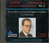CD image ALGERIA / AMINE MESLI / ET L ENSEMBLE NASSIM EL ANDALOUS / LA NUBA CIKA