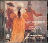CD image LAUTENKONZERTE / FASCH - HAYDN - HAGEN / SMITH