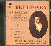 CD image BEETHOVEN / PIANO SONATAS OP.28 AND 31 NO.1 AND 2 / BADURA SKODA
