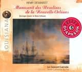 CD image DESMAREST / NEW ORLEANS BAROQUE MUSIC / LE CONCERT LORRAIN