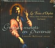 CD image LAURENT BELISSEN / LES FESTES D ORPHEE / GUY LAURENT