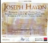 CD image HAYDN / SYMPHONIES NOS.44 AND 45 - CONCERTO POUR PIANO IN D MAJOR / ANIMA ETERNA - IMMERSEEL