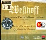 CD image WESTHOFF / SONATES POUR VIOLON ET BASSE CONTINUE / PLANTIER - LES PLAISIRS DU PARNASSE