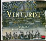 CD image VENTURINI / CONCERTI DA CAMERA / LA CETRA DAVID PLANTIER VIOLON AND DIRECTION