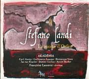 CD image LANDI / LA MORTE D ORFEO - AKADEMIA - FRANCOISE LASSERRE DIRECTION - (2CD)