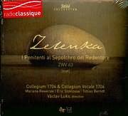 CD image ZELENKA / I PENITENTI AL SEPOLCHRO DEL REDENTIRE - ZWV 63 - COLLEGIUM A704 AND COLLEGIUM VOCALE 1704
