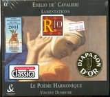 CAVALIERI EMILIO / <br>LAMENTATIONS / <br>LE POEME HARMONIQUE - DUMESTRE