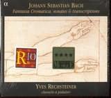 CD image BACH JS / FANTASIA CROMATICA FUGA BWV 903 SONATA BWV 528 - 1001 - 530 ADAGIO BWV 564 CIACCONA BWV1004 TOCC