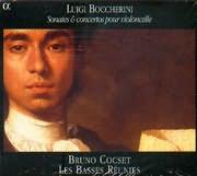 CD image BOCCHERINI LUIGI / SONATES AND CONCERTOS POUR VIOLONCELLE [BRUNO COCSET LES BASSES REUNIES]