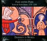 CD image PARIS EXPERS PARIS / ECOLE DE NOTRE DAME 1170 - 1240 / DIABOLUS IN MUSICA - GUERBER