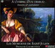 CD image A L OMBRE D UN ORMEAU / BRUNETTES AND CONTREDANSES - FRANCOIS LAZAREVITCH
