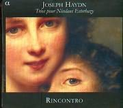 CD image HAYDN JOSEPH / TRIOS POUR NICOLAUS ESTERHAZY / RINCONTRO