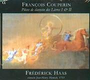 CD image COUPERIN / PIECES DE CLAVECIN DES LIVRES 1 AND 2 - FREDERICK HAAS - CLAVECIN JEAN HENRY HEMSCH (2CD)