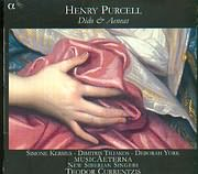 CD image PURCELL / DIDO AND AENEAS / MUSICA AETERNA - CURRENTZIS