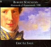 CD image SCHUMANN / KLAVIERWERKE UND KAMMERMISIC VIII - ERIC LE SAGE (2CD)