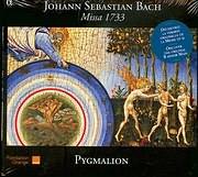 CD image BACH J S / MISSA 1733 OPUS BWV 232 - PYGMALION