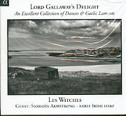 CD image LORD GALLAWAY S DELIGHT / LES WITCHES - SIOBHAN ARMSTRONG IRISH HARP