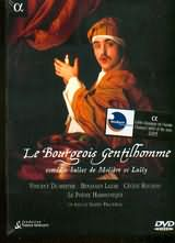 DVD image LE BOURGEOIS GENTILHOMME - COMEDIE - BALLET DE MOLIERE E LULLY - (DVD)