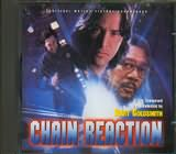 CD image CHAIN REACTION - JERRY GOLDSMITH - (OST)