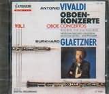CD image VIVALDI / OBOE CONCERTOS RV 454 - 184 - 449 - 447 - 453 - 452 BURKHARD CLAETZNER