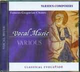 CD image FAMOUS GREGORIAN CHANTS