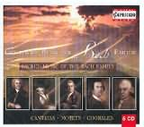 CD image SACRED MUSIC OF THE BACH FAMILY / CANTATAS - MOTETS - CHORALES (5CD)