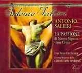 CD image SALIERI / LA PASSIONE DI NOSTRO SIGNORE GESU CRISTO 1776 / SPERING (2CD)