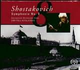 SACD image SHOSTAKOVICH / SYMPHONIE NO.8 OP.65 / KITAJENKO (SACD)