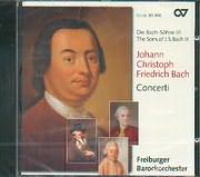CD image BACH JOHANN CHRISTOPH FRIEDRICH / CONCERTI / FREIBURGER BAROCKORCHESTER