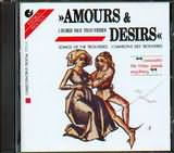 CD image AMOURS AND DESIRS / LIEDER DER TROUVERES / ENSEMBLE FUR FRUHE MUSIK AUGSBURG