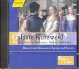 CD image GALANTE KURZWEYL / DANCES FROM RENAISSANCE BAROQUE AND ROCOCO / ENSEMBLE BUON TEMPO