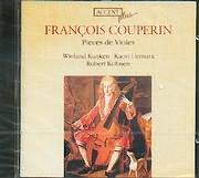 CD image COUPERIN FRANCOIS / PIECES DE VIOLES - WIELAND KUIJKEN - KAORI UEMURA - ROBERT KOHNEN