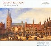 CD image BUXTEHUDE DIETERICH / CANTATAS ET SONATAS - LE CONCERT BRISE - WILLIAMS DONGOIS