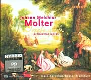 MOLTER / ORCHESTRAL WORKS / MAIN BAROCKORCHESTER FRANKFURT