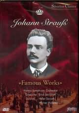 DVD image JOHANN STRAUSS / FAMOUS WORKS / VIENNA SYMPHONIC ORCHESTRA - LEINSDORF - (DVD)