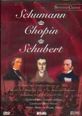 SCHUMANN - CHOPIN - SCHUBERT / <br>HERMANN UND DOROTHEA OEVRTURE - CONCERTO IN F MINOR NO.2 - SYMPHONY NO6 - (DVD)