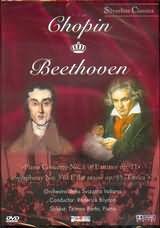 DVD image CHOPIN - BEETHOVEN / PIANO CONCERTO NO.1 OP.11 - SYMPNHONY NO.3 OP.55 / BARTO - BRYDON - (DVD)