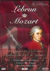 LEBRUN - MOZART / <br>OBOE CONCERTO NO.1 - SYMPHONY NO.35 KV385 / <br>ZOBOLI - BRUGGEN - (DVD)