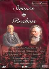 STRAUSS - BRAHMS / <br>DER ROSENKAVALIER - BURLESQUE FOR PIANO AND ORCHESTRA IN D MINOR - SYMPHONY NO.2 - (DVD)