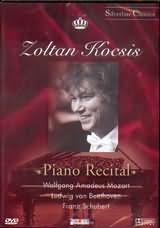 DVD image ZOLTAN KOCSIS / PIANO RECITAL / MOZART - BEETHOVEN - SCHUBERT - (DVD)