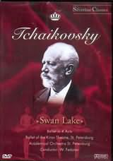 DVD image TCHAIKOVSKY / SWAN LAKE - BALLET IN 4 ACTS / BALLET OF THE KIROV THATRE - FEDOTOV - (DVD)