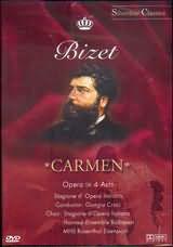 DVD image BIZET / CARMEN - OPERA IN 4 ACTS / STAGIONE D OPERA ITALIANA - CROCI - (DVD)