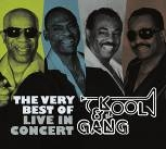 CD image KOOL AND THE GANG / THE VERY BEST OF - LIVE IN CONCERT