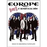 DVD image EUROPE - LIVE AT SHEPHERD S BUSH, LONDON - (DVD)